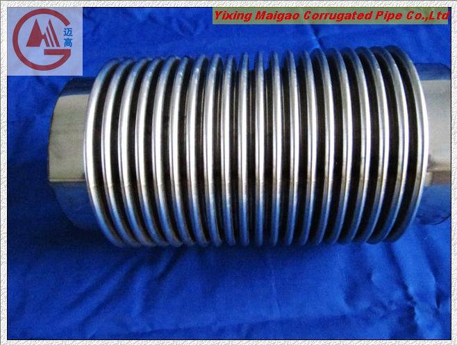 China stainless steel flexible metal bellow yxmg