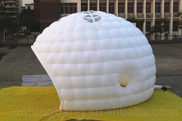 White Color Inflatable Dome Tent for Event Decoration