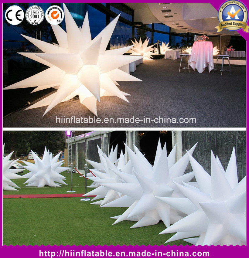 Party Event Inflatable LED Light Inflatable Air Star Balloon