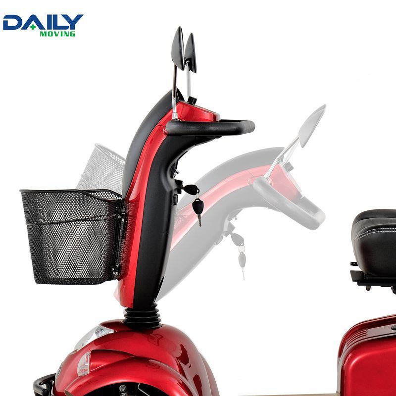 Comfortable 24V 800W 4 Wheels Mobility Scooter for Handicapped