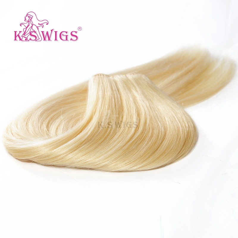 K. S Wigs 7A Grade Human Hair Extension 100% Brazilian Human Hair