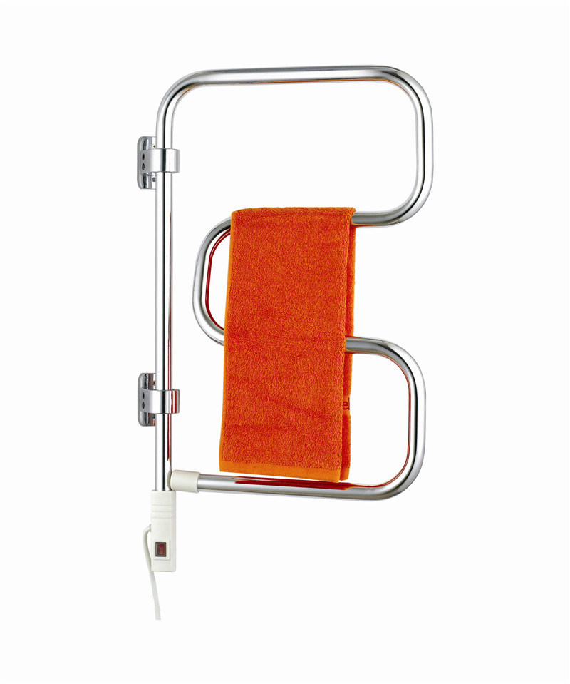 S Shape Concealed Exposed Wiring Heated Towel Rail: China Steel S-Shape Electric Wiring Chrome Towel Rail