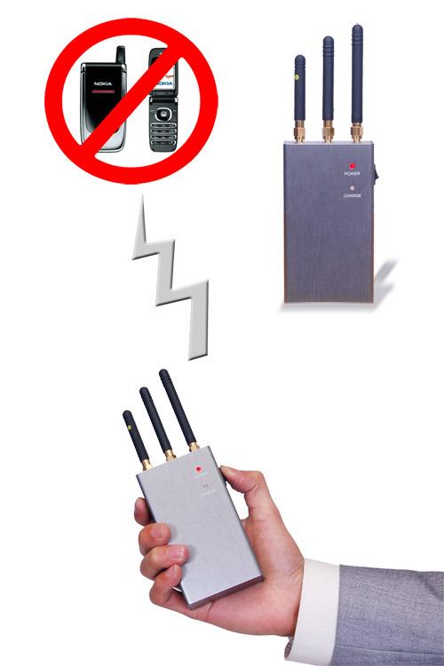 Mini Portable GSM/CDMA/WCDMA/TD-SCDMA/Dcs/Phs Cell Phone Signal Jammer Blocker