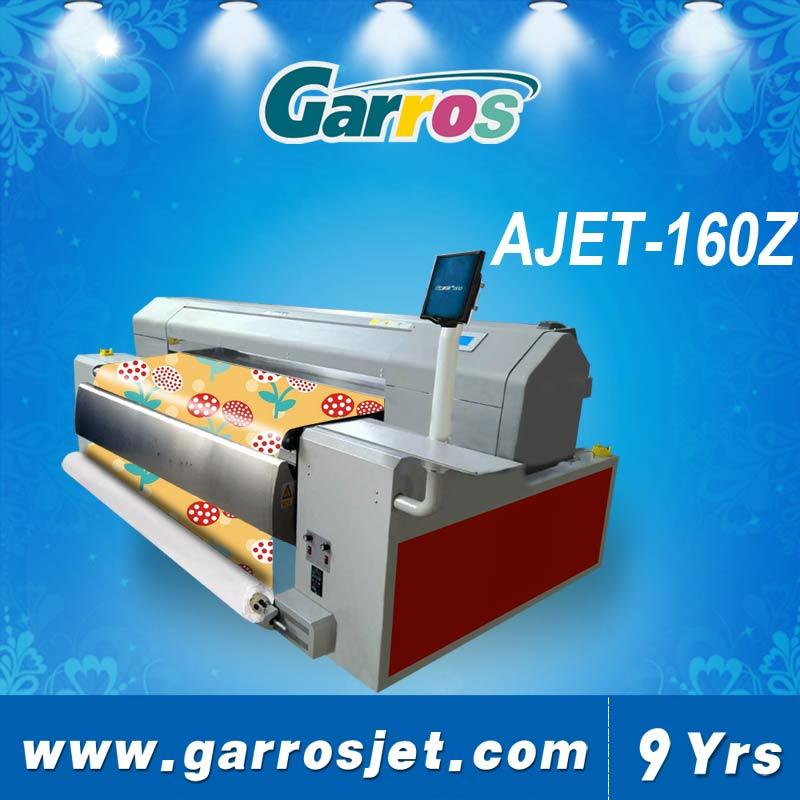 Cotton/Nylon/Silk/Polyester Direct Textile Printer 1.6m Printing Size