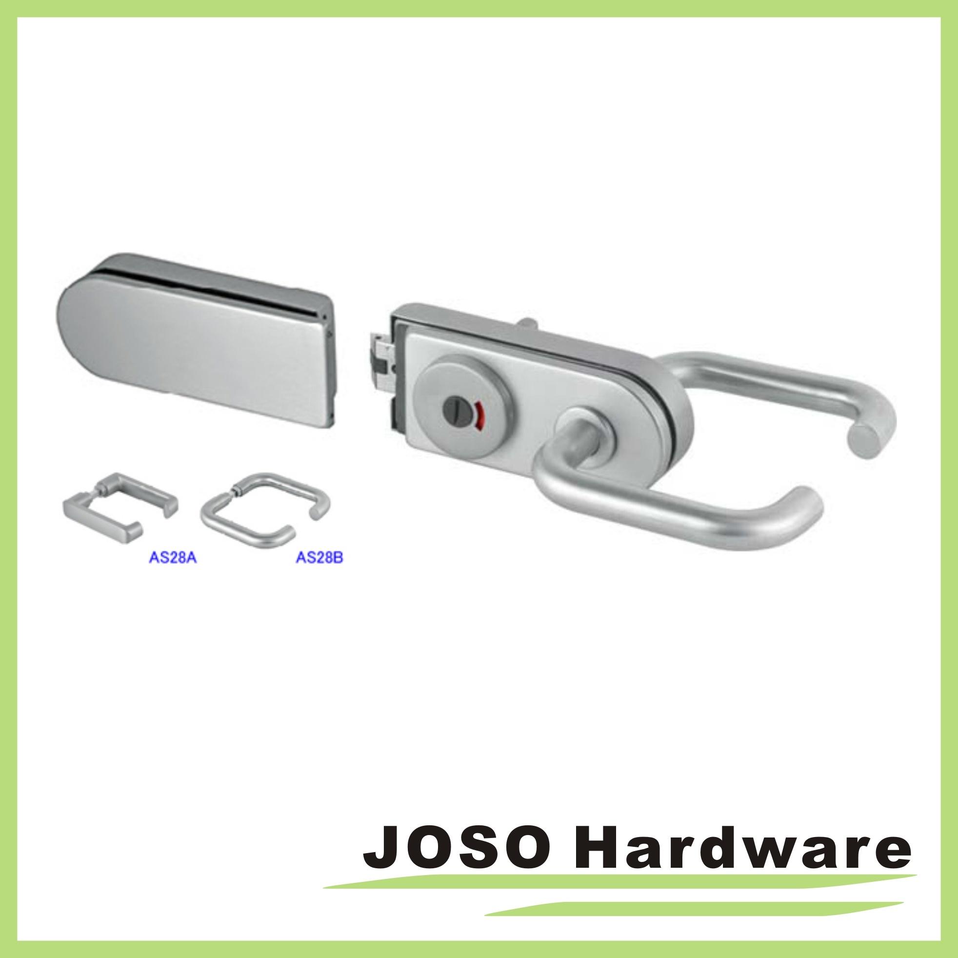 Locksets for Double Swing Hinge Frameless Door (GDL018A-3)