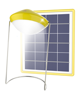 Warm Light Solar Table Lamp From Yingli Solar