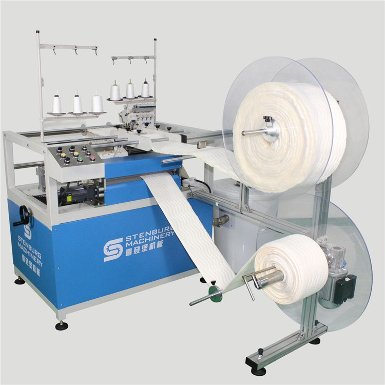 Double Sewing Heads Serging Machine (SB-2A)