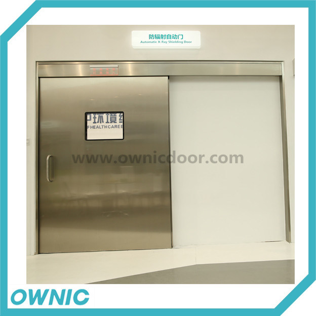 Accept Different Size Zftdm-2 Stainless Steel Hot X-ray Sliding Door
