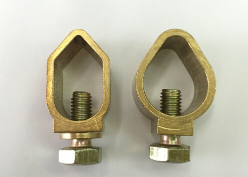 Brass Clamp for Connecting Earthing Rod and Wire