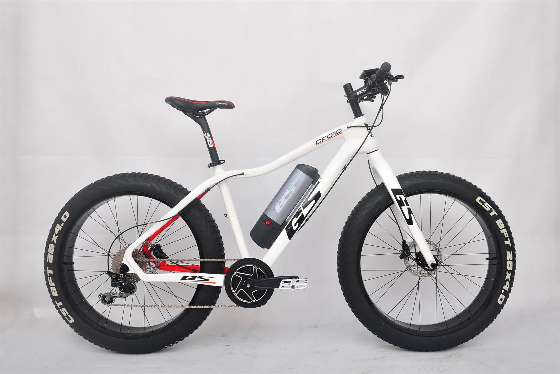 26 Inch Carbon Fiber Electric Bicycle E Bike