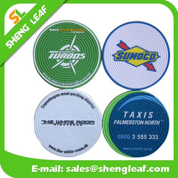 Householder Custom Silicone Coaster for Promotional Gifts (SLF-RC015)