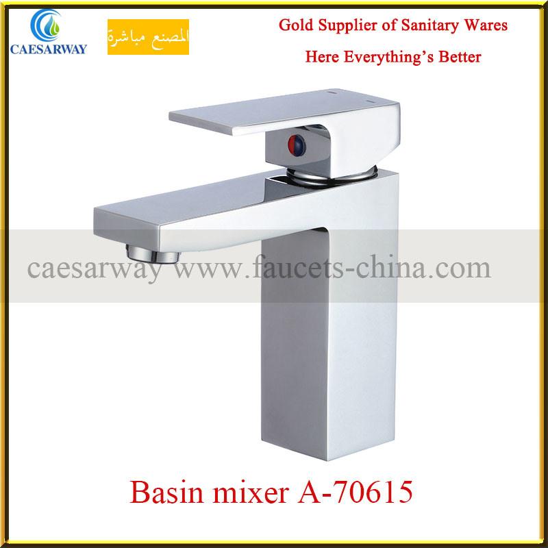 Sedal Cartridge Brass Square Shower Bathtub Faucet&Mixer for Bathroom