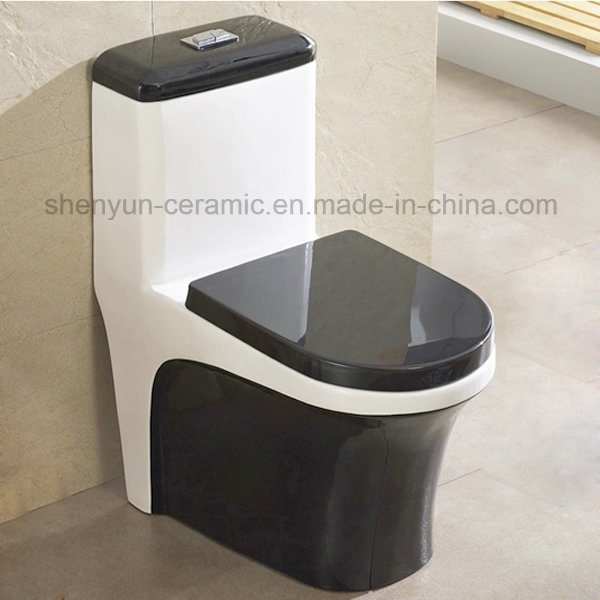One-Piece Ceramic Toilet Color Toilet S-Trap (A-031)