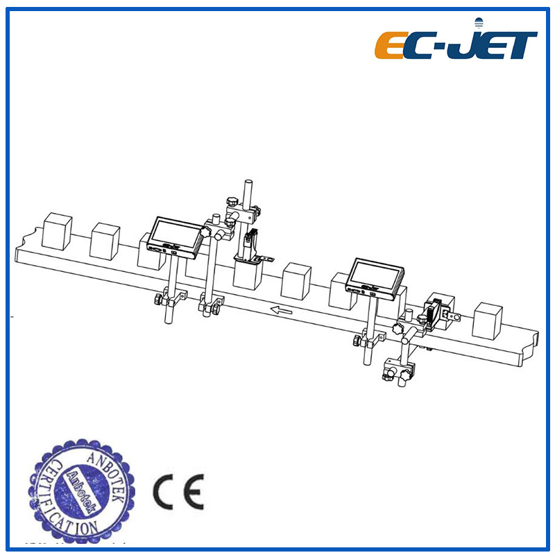 Lowcost High-Resolution Tij 2.5 Inkjet Printer for Carton Box (EC-JET700)