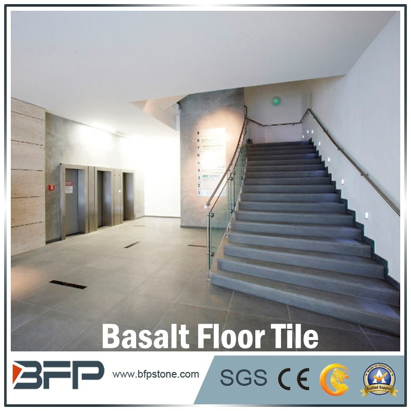 Building Material Natural Stone Basalt Floor Tile for Flooring & Wall