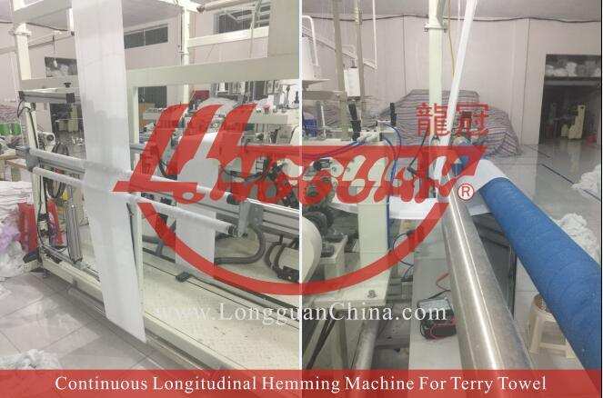 Continuous Longitudinal Hemming Machine