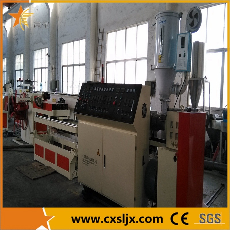 PP PVC PE Single Wall Corrugated Pipe Production Line