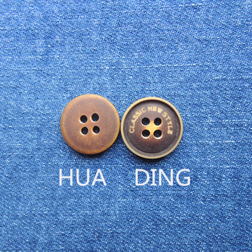 4-Hole High Quality Plastic Sewing Button for Garment (HD1018-15)