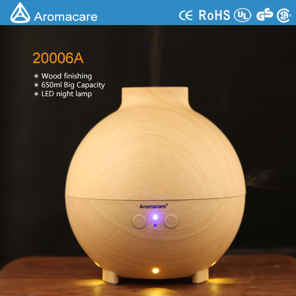 Aromacare 600ml Wood Aroma Diffuser (20006A)