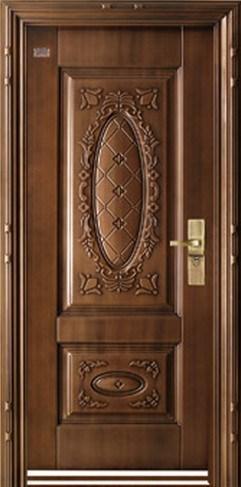 Artificial Cooper Steel Door