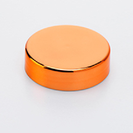 100mm Plastic Chrome Cap