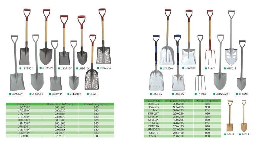 Shove Spade Garden Tools Agricultural Tools Wth Handle