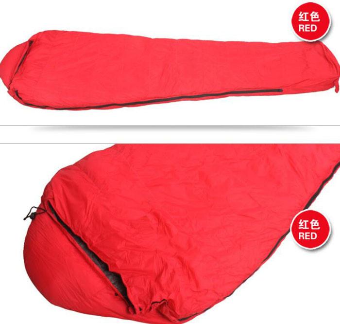 Outdoor Waterproof Mummy-Style Double Down Sleeping Bag