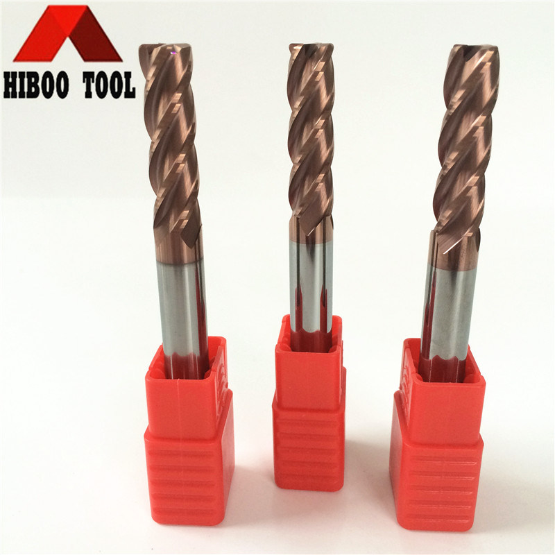 Long Shank Carbide Corner Raduis Cutting Tools with Tisin Coating