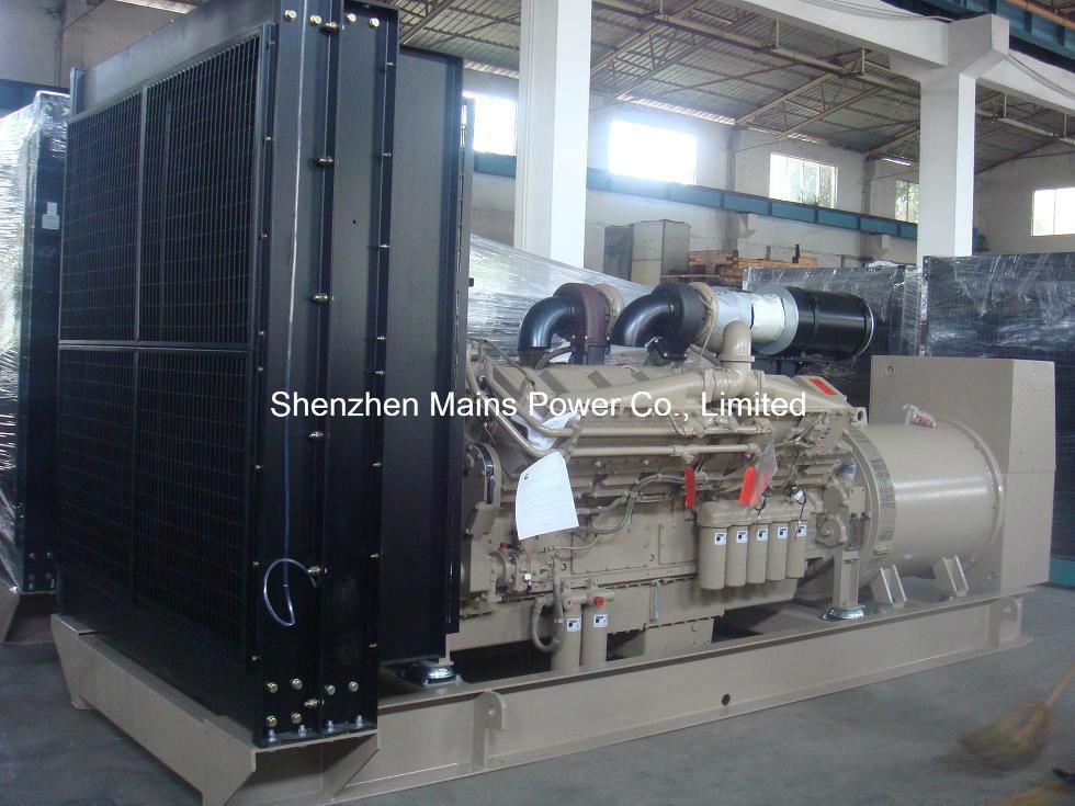 1500kVA 1200kw Kta50-GS8 Cummins Diesel Generator Standby 1650kVA