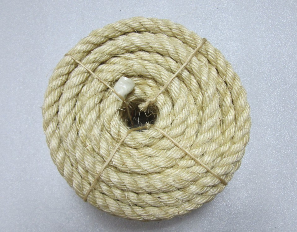 100% Natural Sisal Fiber Rope