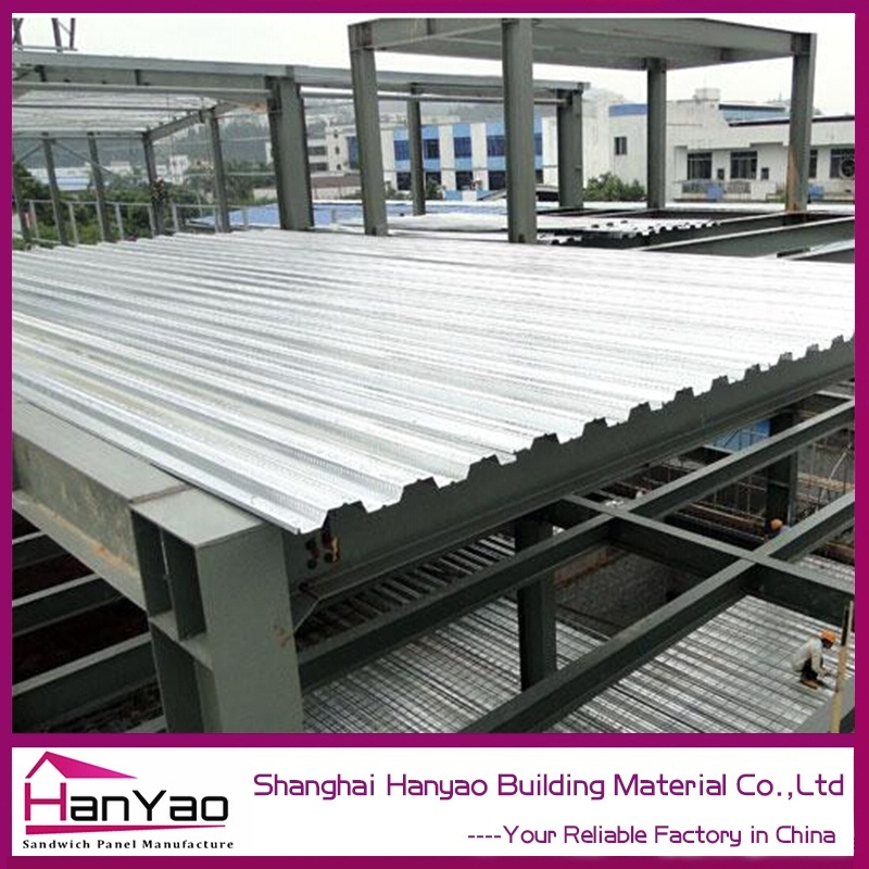 High Quality Yx51-342-1025 Steel Galvanized Corrugated Floor Deck
