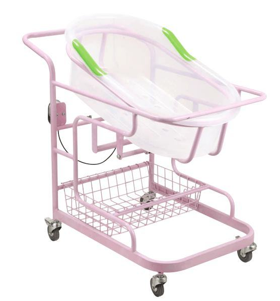 Air Spring Tilting Hospital Bassinet for Baby
