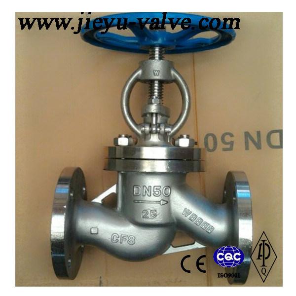Stainless Steel Flanged Manual Water/Industrial Globe Valve