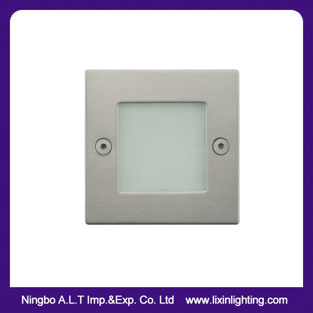 IP54 Aluminum LED Step Light, LED Recessed Wall Light, Stair Light