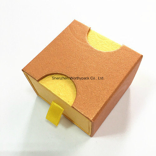 Various Styled Coated Paper Jewelry Boxes