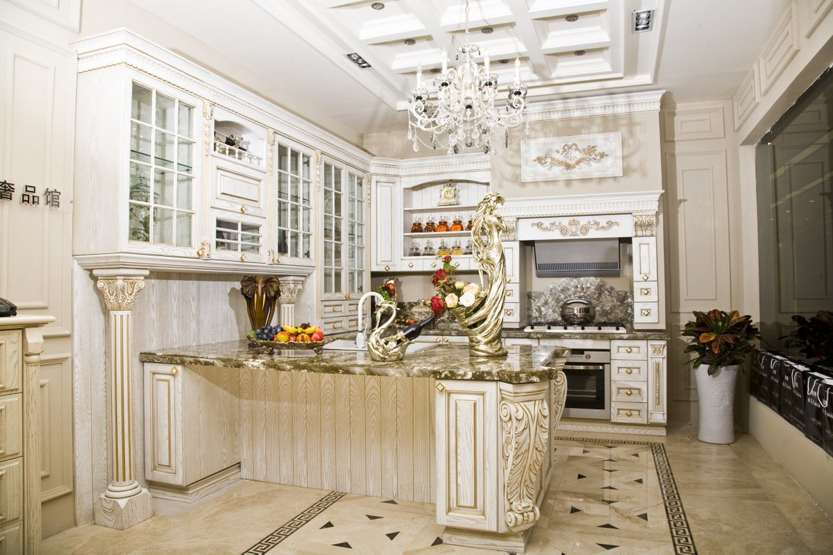 American Traditional Kitchen Cabinet