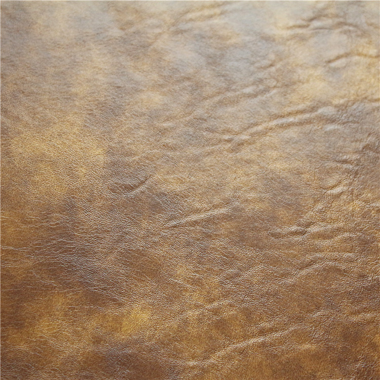 High Grade PU Sofa Leather Crazy Hourse Synthetic Leather (768#)