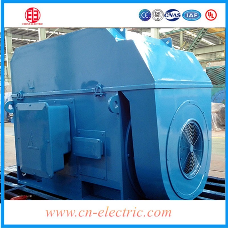 10 Kv High Voltage Low Rpm Shanghai Electric AC Motor