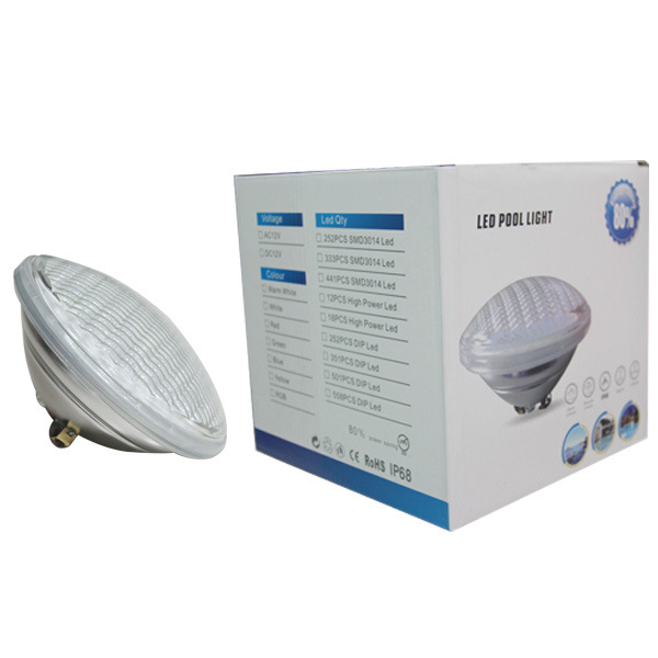 40W RGB LED PAR56 Swimming Pool Lamp with Remote Controller