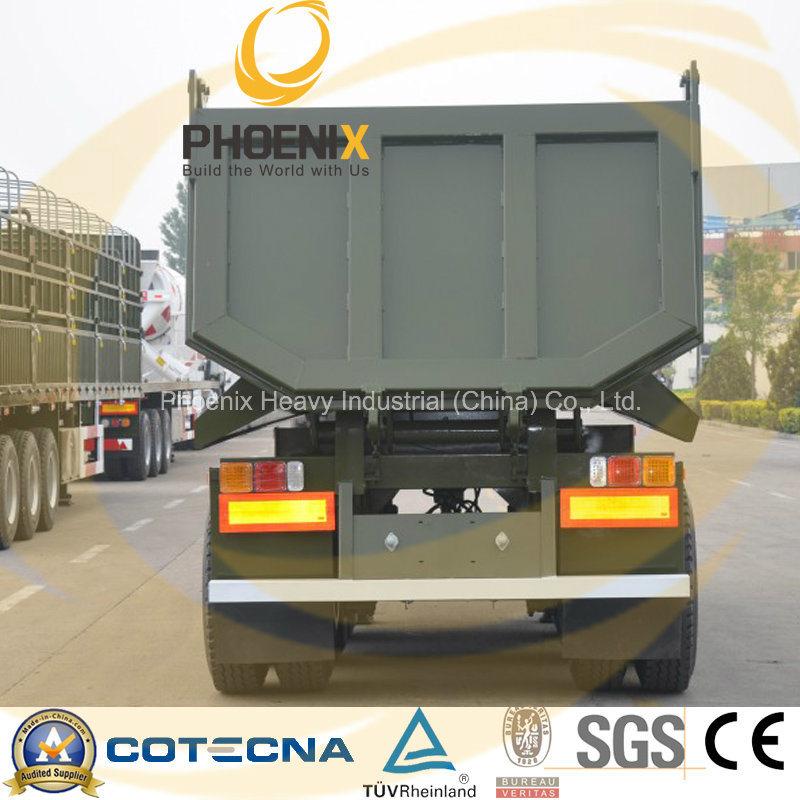 Professional Supplier 30tons Tri-Axle Rear Dumper Semi Trailer