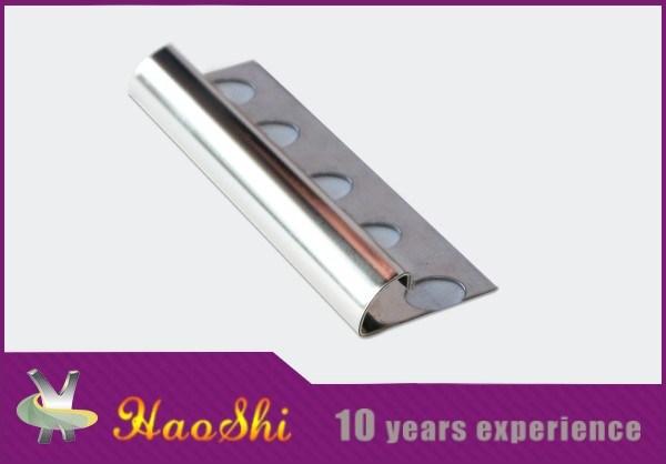 Good Price Stainless Steel Round Edge Ceramic Tile Trim (HSSS-09)