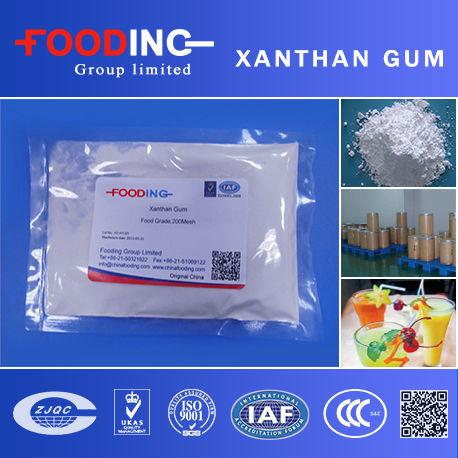 Kosher Halal Food Grade 80mesh 200mesh Xanthan Gum
