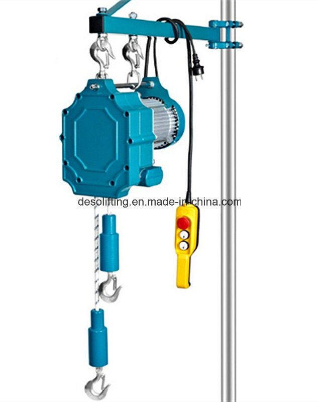Fast Material Rope Hoist with Two Direction