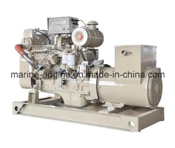 200kw-500kw Chinese Zichai Diesel Marine Genset for Sale