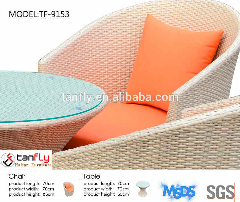 Outdoor Rattan Furniture Leisure Table and Chairs Set