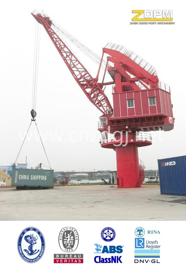 Fixed Crane Luffing with Payload/Fixed Crane/Fixed Crane for Dock