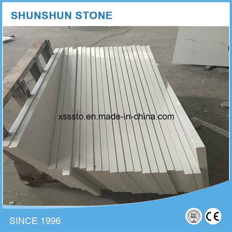 Artificial Stone White Quartz Countertop or Kitchen Countertop