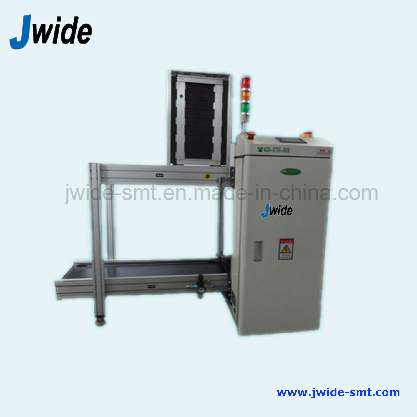 Automatic PCB magazine Loader with 3 Magzines