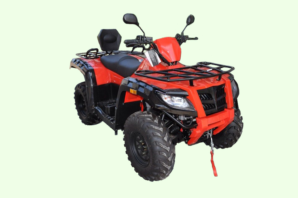 500cc Four-Stroke Shaft Drive ATV