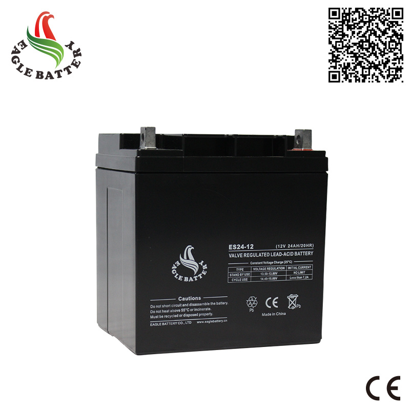 12V 24ah VRLA Sealed Lead Acid Battery for UPS